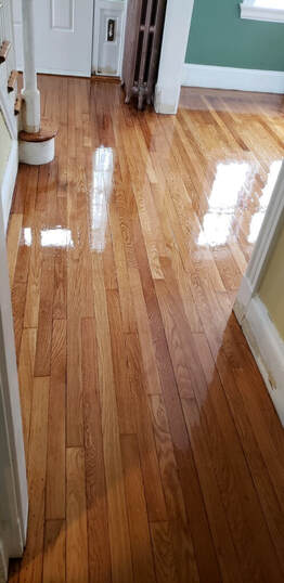 This is a picture of a flooring service.