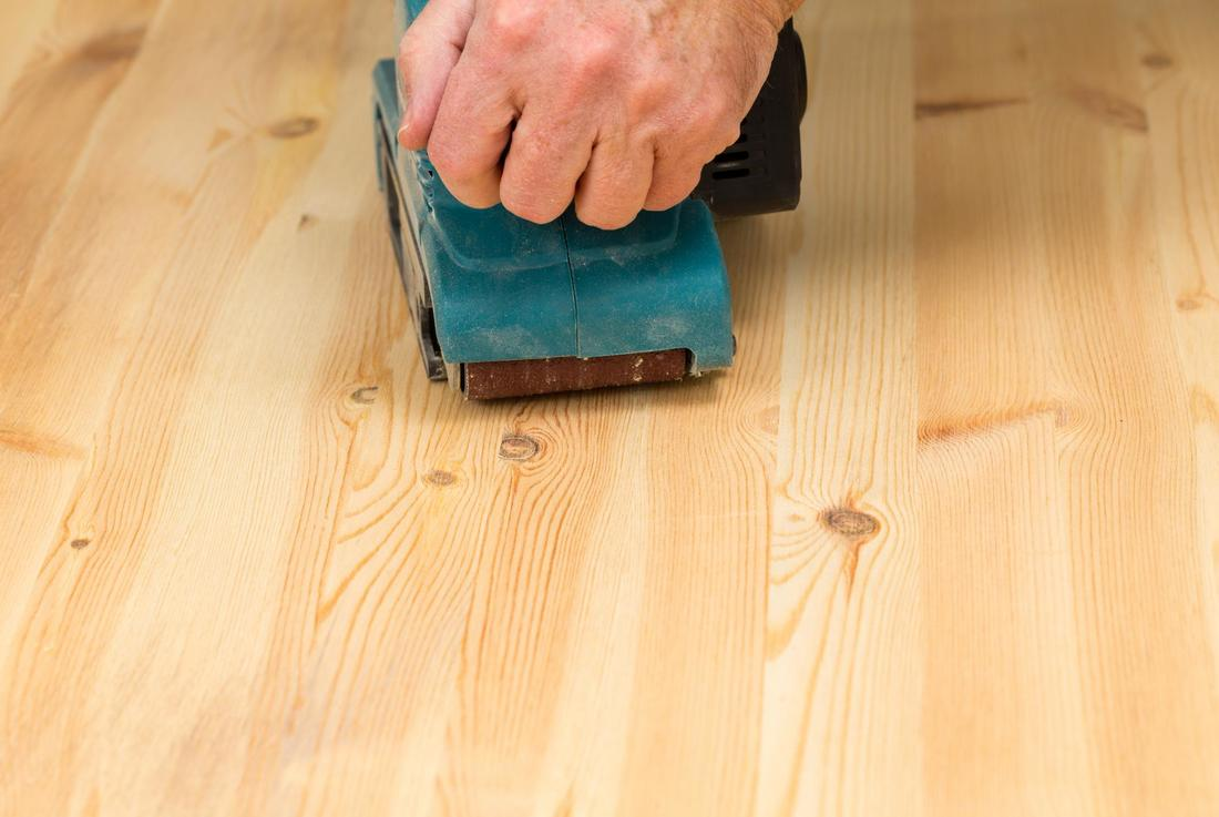 This is a picture of a sanding.